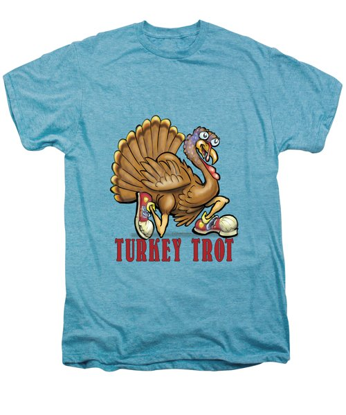 Turkey Trot Men's Premium T-Shirt by Kevin Middleton