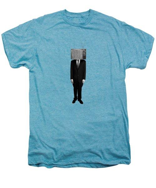 Tv Head Men's Premium T-Shirt by Diane Diederich