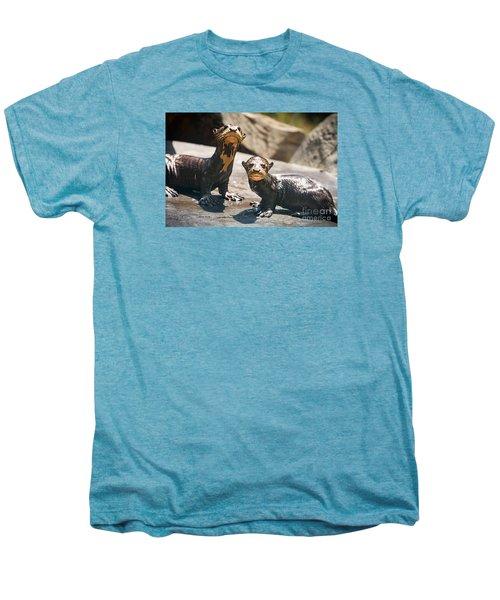 Twins Men's Premium T-Shirt by Jamie Pham