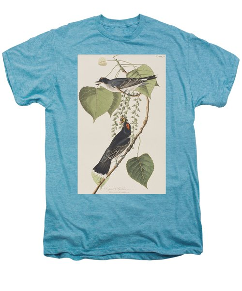 Tyrant Fly Catcher Men's Premium T-Shirt by John James Audubon