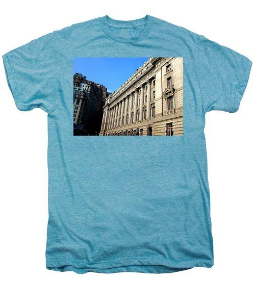 U S Custom House 1 Men's Premium T-Shirt by Randall Weidner