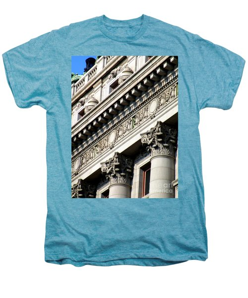 U S Custom House 2 Men's Premium T-Shirt by Randall Weidner