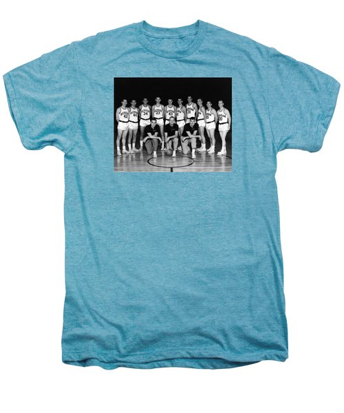 University Of Michigan Basketball Team 1960-61 Men's Premium T-Shirt by Mountain Dreams