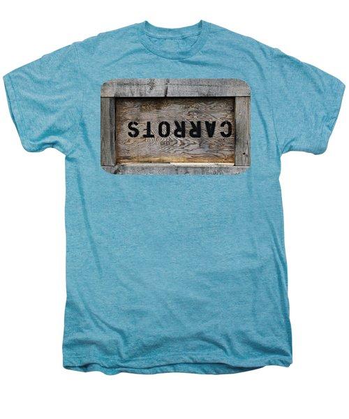 Upside Down Carrot Box Men's Premium T-Shirt by Ethna Gillespie