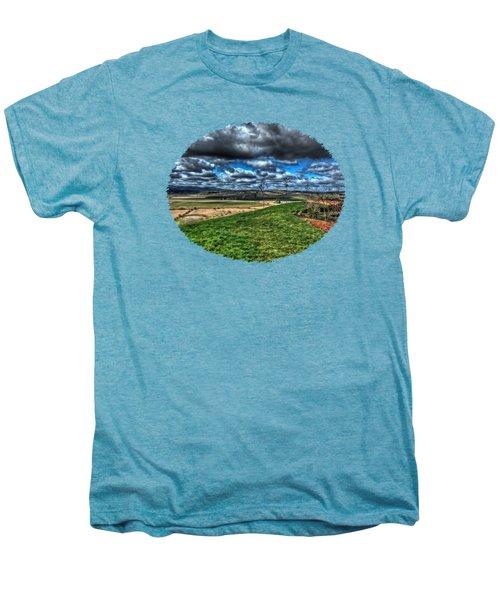 Van Duzer Vineyards View Men's Premium T-Shirt by Thom Zehrfeld