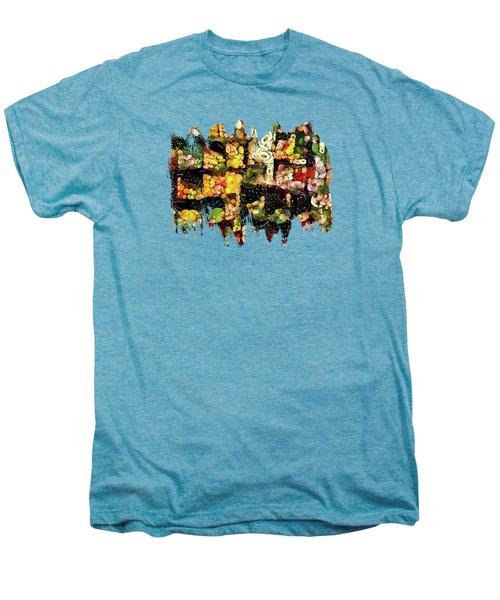 Veggies And Fruit Galore Men's Premium T-Shirt by Thom Zehrfeld