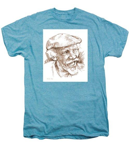 Victor Boa Men's Premium T-Shirt by Greg Joens
