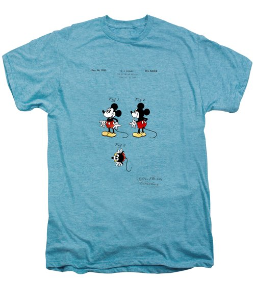 Vintage 1930 Mickey Mouse Patent Men's Premium T-Shirt by Bill Cannon