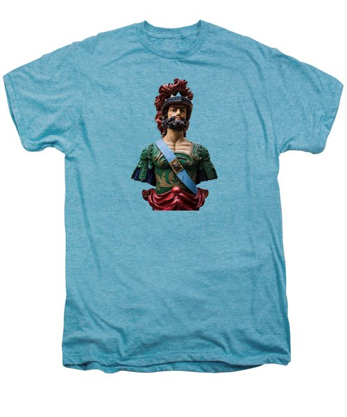 Vintage Ships Bust Men's Premium T-Shirt by Martin Newman