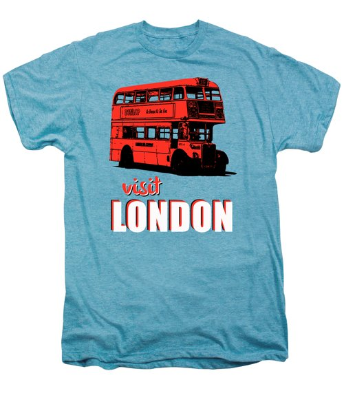 Visit London Tee Men's Premium T-Shirt by Edward Fielding