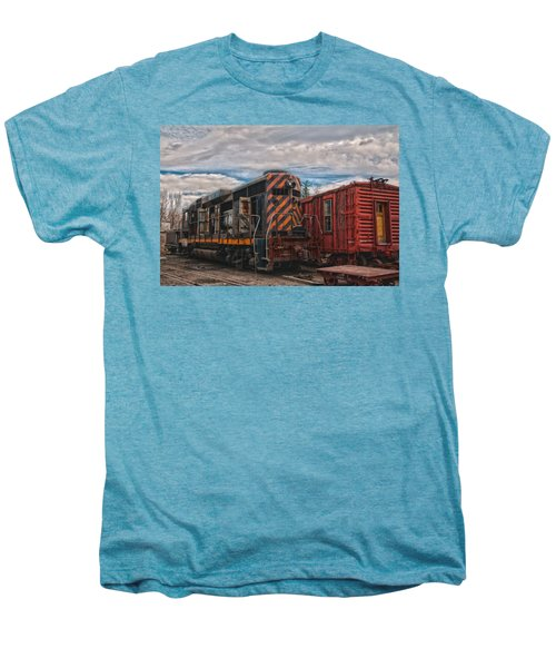 Waiting For Work Men's Premium T-Shirt by Michael Connor