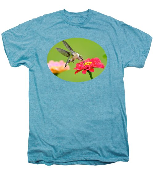 Waiting In The Wings Men's Premium T-Shirt by Christina Rollo
