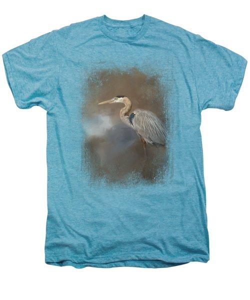 Walking Into Blue Men's Premium T-Shirt by Jai Johnson
