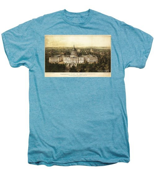 Washington City 1857 Men's Premium T-Shirt by Jon Neidert