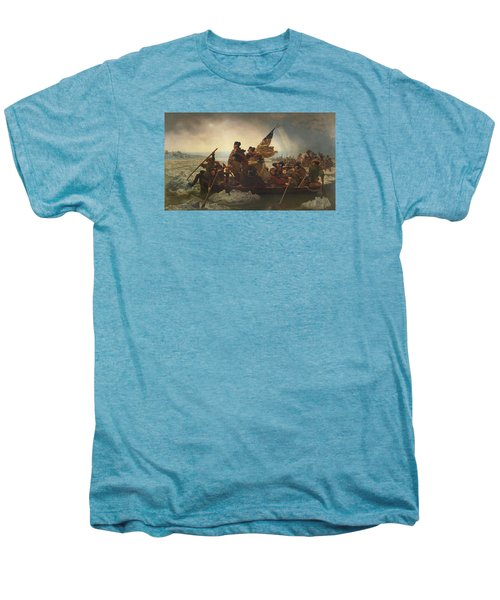 Washington Crossing The Delaware Men's Premium T-Shirt by War Is Hell Store