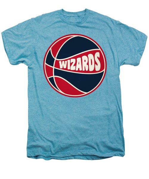 Washington Wizards Retro Shirt Men's Premium T-Shirt by Joe Hamilton