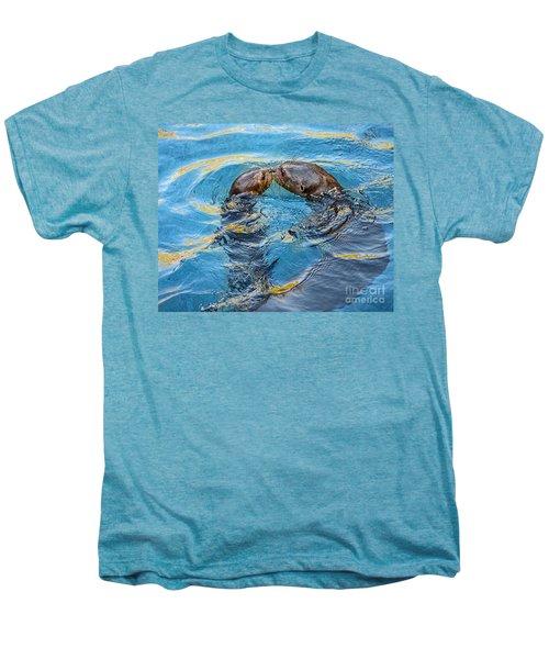 Water Kisses Men's Premium T-Shirt by Jamie Pham