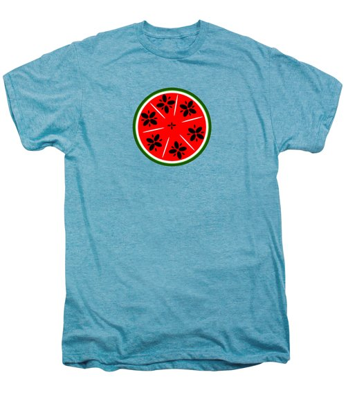 Watermelon Summer Men's Premium T-Shirt by Chastity Hoff