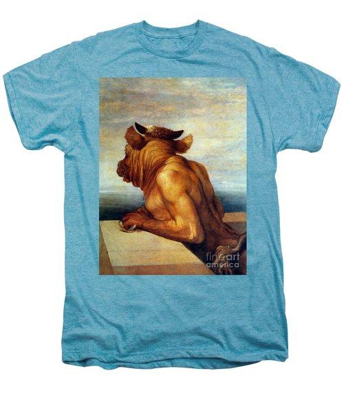 Watts: The Minotaur Men's Premium T-Shirt by Granger