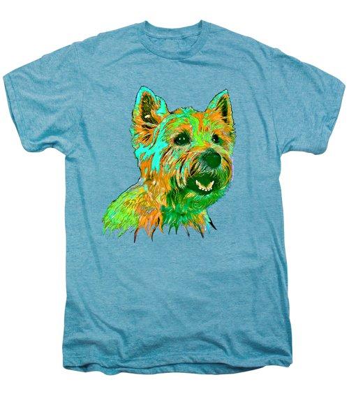 West Highland Terrier Men's Premium T-Shirt by Marlene Watson