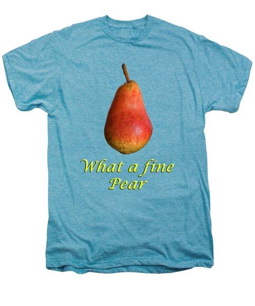 What A Fine Pear Men's Premium T-Shirt by Gillian Singleton
