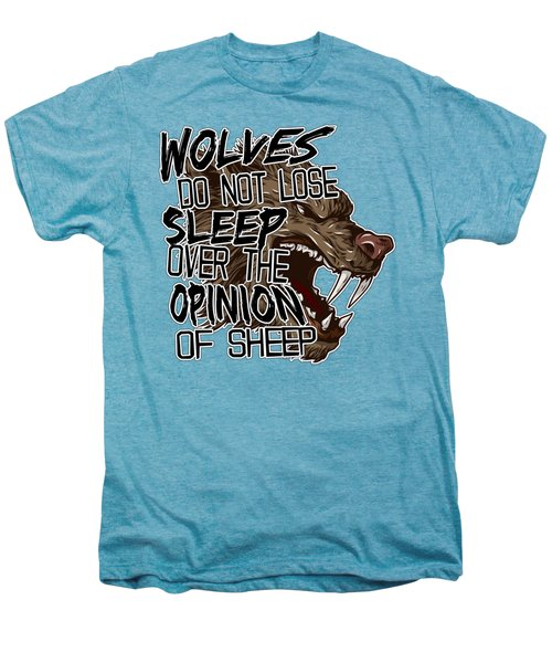Wolves And Sheep Men's Premium T-Shirt by Michelle Murphy