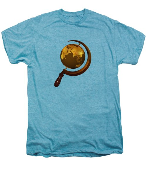 Workers Of The Globe Men's Premium T-Shirt by Nicholas Ely