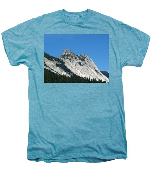 Yak Peak Men's Premium T-Shirt by Will Borden