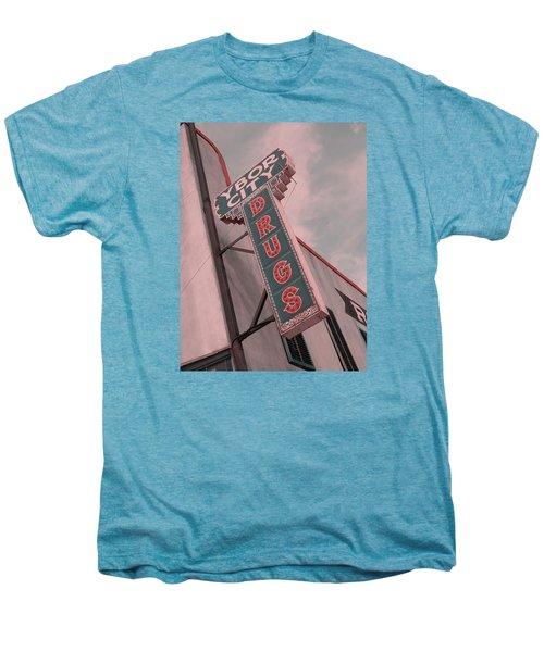 Ybor City Drug Men's Premium T-Shirt by Robert Youmans