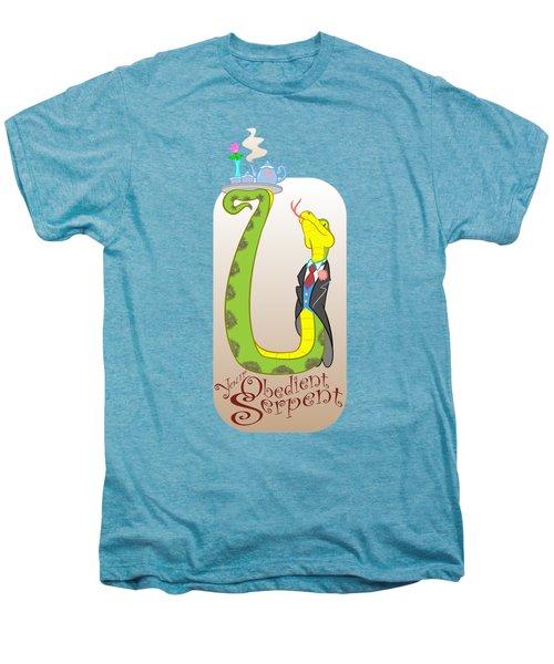 Your Obedient Serpent Men's Premium T-Shirt by J L Meadows