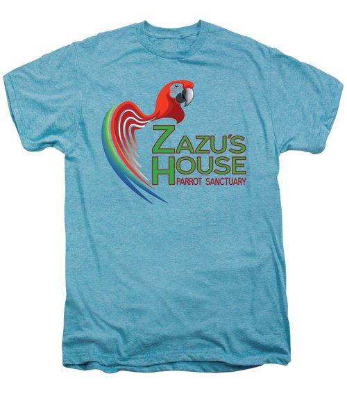 Zazu's House Parrot Sanctuary Men's Premium T-Shirt by Zazu's House Parrot Sanctuary