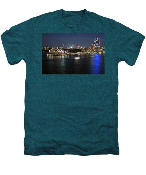 Sydney Harbor At Circular Quay Men's Premium T-Shirt by Ellen Henneke