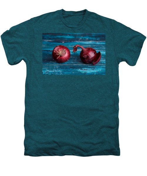 Red Onions Men's Premium T-Shirt by Nailia Schwarz