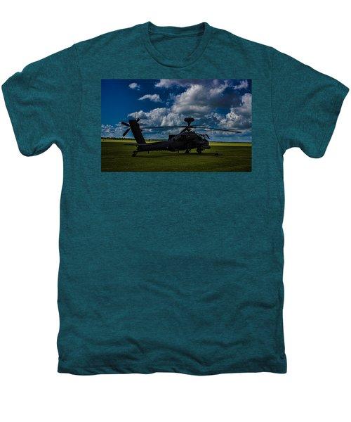 Apache Gun Ship Men's Premium T-Shirt by Martin Newman