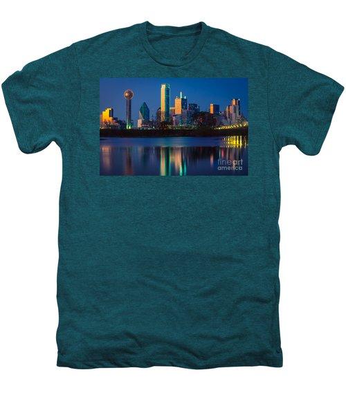 Big D Reflection Men's Premium T-Shirt by Inge Johnsson