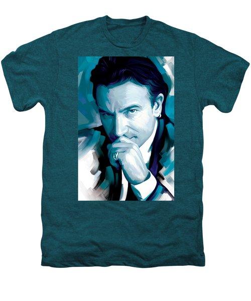 Bono U2 Artwork 4 Men's Premium T-Shirt by Sheraz A