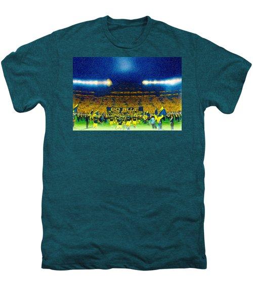 Glory At The Big House Men's Premium T-Shirt by John Farr