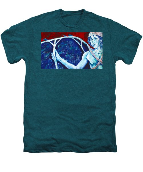 Icarus Men's Premium T-Shirt by Derrick Higgins