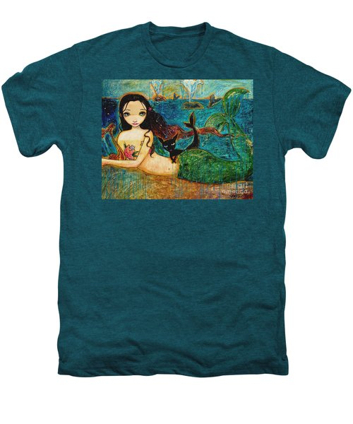Little Mermaid Men's Premium T-Shirt by Shijun Munns