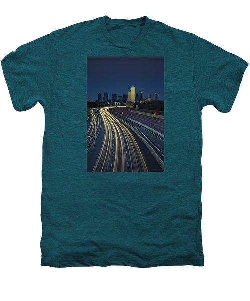 Oncoming Traffic Men's Premium T-Shirt by Rick Berk