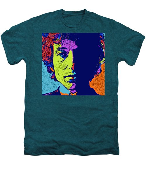 Pop Art Dylan Men's Premium T-Shirt by David G Paul
