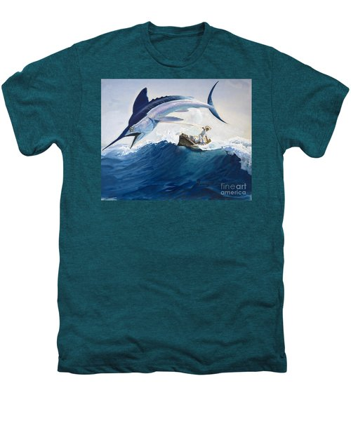 The Old Man And The Sea Men's Premium T-Shirt by Harry G Seabright