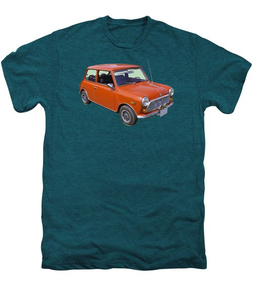 Red Mini Cooper Men's Premium T-Shirt by Keith Webber Jr