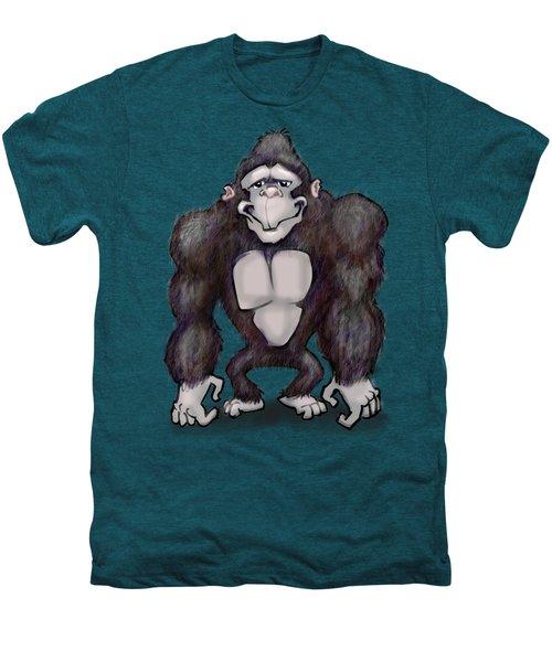 Gorilla Men's Premium T-Shirt by Kevin Middleton