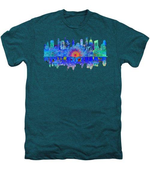 New York Men's Premium T-Shirt by John Groves