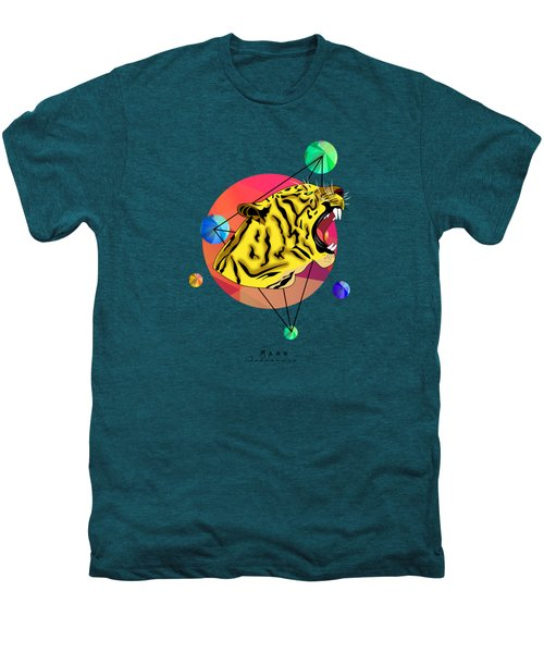 Tiger  Men's Premium T-Shirt by Mark Ashkenazi