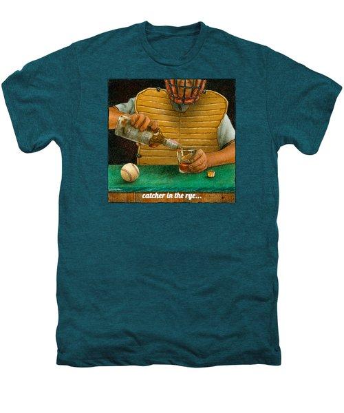 Catcher In The Rye... Men's Premium T-Shirt by Will Bullas