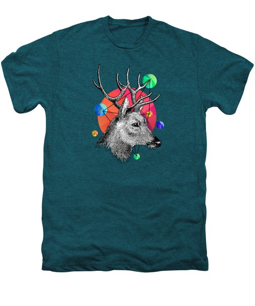 Deer Men's Premium T-Shirt by Mark Ashkenazi