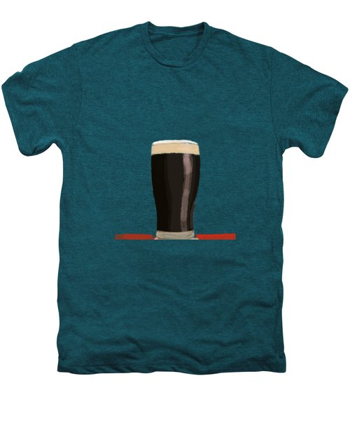 A Glass Of Stout Men's Premium T-Shirt by Keshava Shukla