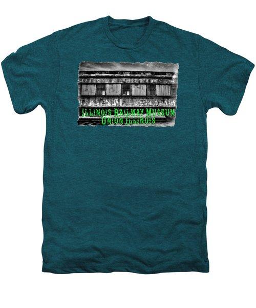 Abandoned Circus Transport Car Men's Premium T-Shirt by Roger Passman